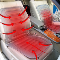 winter car heated pad car heated seat cushion electric heating pad car heated seat covers car covers for dropship