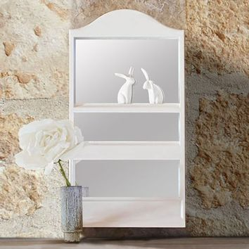 Arched Wall Mirror + Beauty Storage