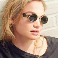 Vintage Deadstock Grampa Oval Sunglasses | Urban Outfitters
