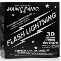 Manic Panic Flash Lightning Bleach 30 Volume Box Kit Vegan