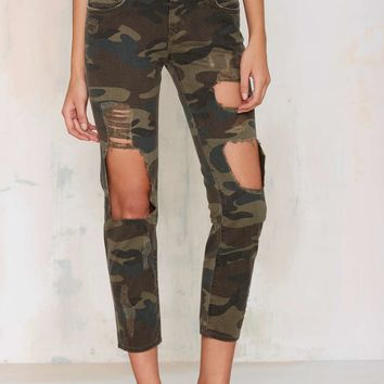 Lovers and Friends Ezra Camo Pants