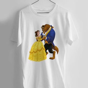 Beauty and the Beast T-shirt Men, Women Youth and Toddler