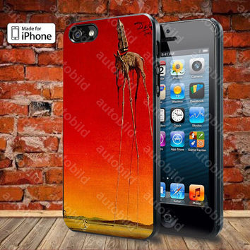 Salvador Dali, The Elephants Case For iPhone 5, 5S, 5C, 4, 4S and Samsung Galaxy S3, S4