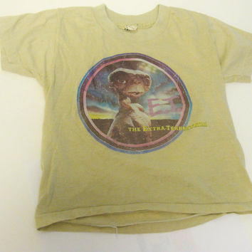 E.T. Kids Tshirt - 1980s - The Extra-Terrestrial