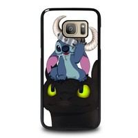 STITCH AND TOOTHLESS Samsung Galaxy S7 Case Cover