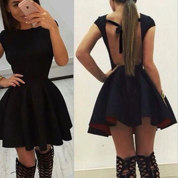 """Babydoll"" Skater Flare Dress"