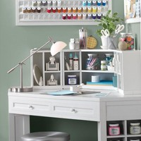 Martha Stewart Living™ Craft Space Corner Table - Martha Stewart Living™ Craft Space -  Storage And Display | HomeDecorators.com