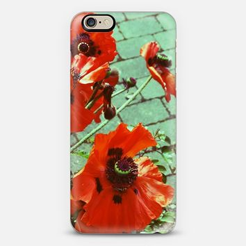 poppy iPhone 6 case by austeja platukyte | Casetify