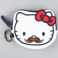 The Hello Kitty Mustache Coin Bag : Loungefly : Karmaloop.com - Global Concrete Culture