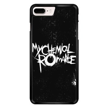 My Chemical Romance Black White Logo iPhone 7 Plus Case