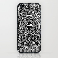 Buddhist Mandala  iPhone & iPod Skin by Christopher Worker
