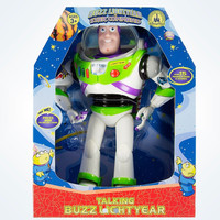 "Disney Parks Toy Story Buzz Lightyear 12"" Talking 15 Phrases Figure New with Box"