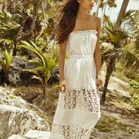 Palmarosa - Crochet Maxi Dress | ShopMiamiStyle