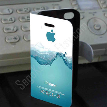 Water Splash2 PVC (syntetic) Leather Folio Case for iPhone and Samsung Galaxy