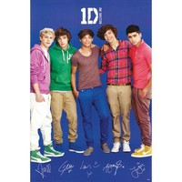 One Direction Blue