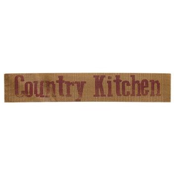 Country Kitchen Wooden Sign - *FREE SHIPPING*
