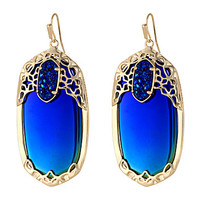 Kendra Scott Deva Earring Gold Illusion - Zappos.com Free Shipping BOTH Ways