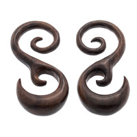Amana Hook Wood Plugs (0g) #7625