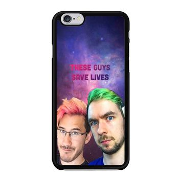 Jacksepticeye And Pewdiepie Markiplier 001  iPhone 6/6S Case