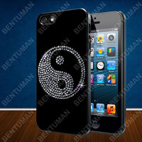 Ying Yang Budha case for iPhone 4, 4S, 5, 5S, 5C and Samsung Galaxy s2, s3, s4