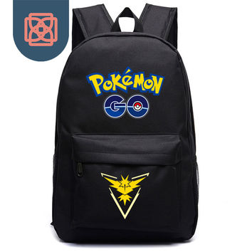 men women Canvas School Bags for teenagers Backpack Travel bag pokemon Backpacks Preppy Style bagpack laptop