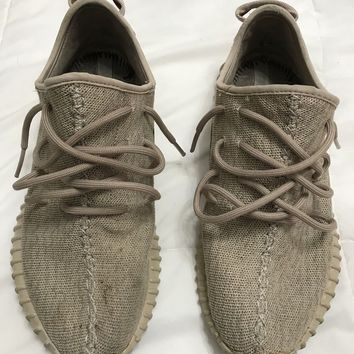 Adidas Yeezy Boost 350 Oxford Tan Mens Size 9 Running Athletic Shoes
