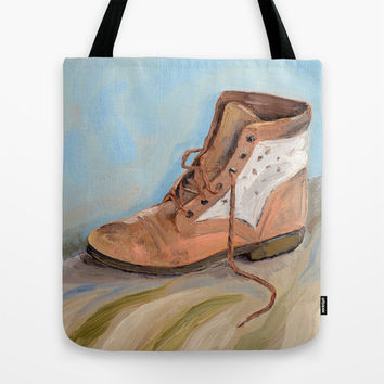 Shoe made for walking Tote Bag by Jos Eertink