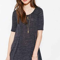 Cooperative Cozy Trapeze Swing Dress- Navy