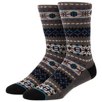 Stance Rockland Socks - Grey at Urban Industry