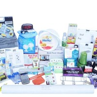 Large College Supply Assortment - Super-Mega Dorm Pack - 44 College Dorm Room Essentials