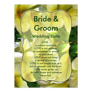 Full of Happiness Wedding Love Magnetic Card