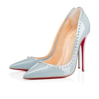 Anjalina 120mm Horizon Silver Patent Leather