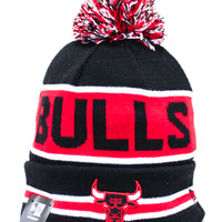 Chicago Bulls Coach Beanie (Black)