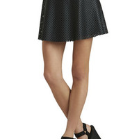 Fit-And-Flare Mini in Black - BCBGeneration