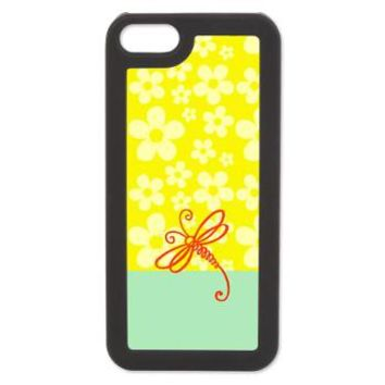 Yellow Green Dragonfly Art iPhone 5 Switch Case> Cases & Covers > raineOn