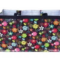 Bright Flowers Trunkster Tote