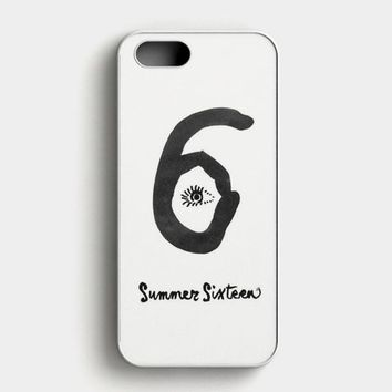 Drake Summer Sixteen Logo iPhone SE Case
