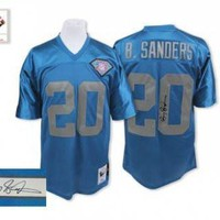 DCCK Detroit Lions Jersey - Barry Sanders M & N Throwback Jersey