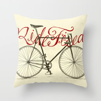 Live Free Throw Pillow by Nathan Yoder