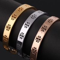 Tory Burch New fashion personality hollow opening bracelet