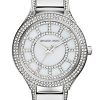 Women's Michael Kors 'Kerry' Crystal Accent Bracelet Watch, 38mm