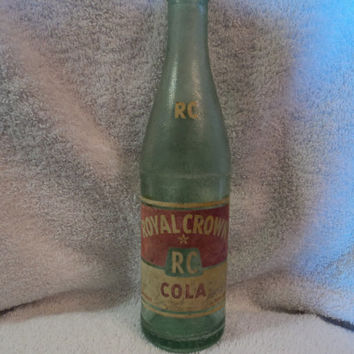Vintage Royal Crown Bottle