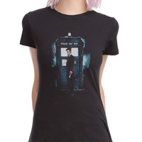 Doctor Who 11th Doctor Tardis Girls T-Shirt