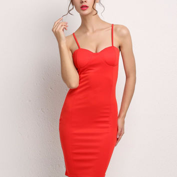 Hot Sexy Women Backless Mini Dresses Sleeveless Slim Fitted Vestidos Bodycon Dress Strap Red Party Dress Club Wear SV024691