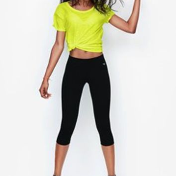 Crop Legging - Victorias Secret PINK - Victoria's Secret