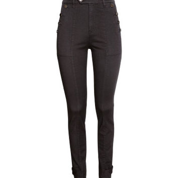 H&M Twill Pants High waist $29.99