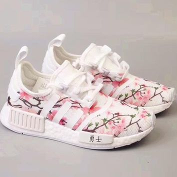 x1love £º Adidas NMD Boost Women Cherry Blossoms Running Sport Casual Shoes Sneakers