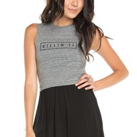 Brandy ♥ Melville |  Mina Killin' It Tank - Graphics