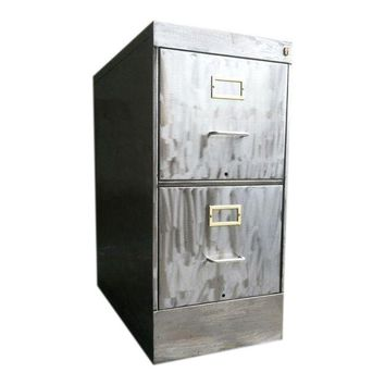 Pre-owned Industrial Steel Filing Cabinet