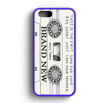 Bmth Bring Me To The Horizon Mix Tape iPhone 5 Case Available for iPhone 5 Case iPhone 5s Case iPhone 5c Case iPhone 4 Case